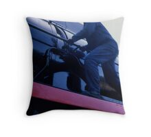 Steam energy Throw Pillow