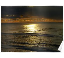 Ilwaco Sunset Poster