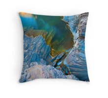 Emerald Green Throw Pillow