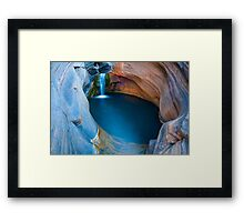 Spa Pool Framed Print