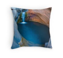 Spa Pool Throw Pillow