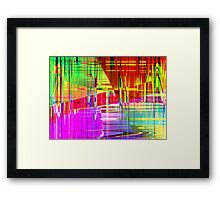 steel 2 Framed Print
