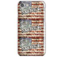 America And Flag iPhone Case/Skin