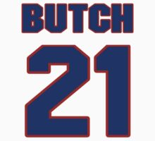 National football player Butch Woolfolk jersey 21 by imsport