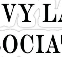 Levy Law Associates Sticker