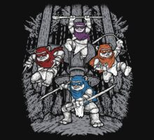 The Ninja Savages  by andresMvalle