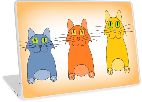 Three Little Cats by Jean Gregory  Evans