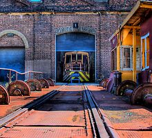Wheels of Industry by Mark Richards
