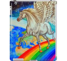 Rainbow Runner iPad Case/Skin