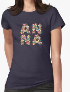 Spring Flowers ANNA Womens Fitted T-Shirt