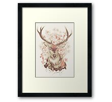 Stag of my Dreams Framed Print