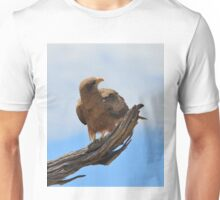Yellow Billed Kite - Looking at Heaven Unisex T-Shirt