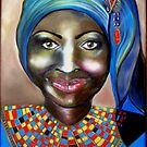 African Lady by ValerieSherwood