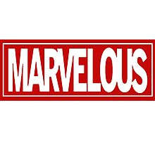 Marvel - ous Photographic Print