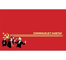 The Communist Party - Communism - Politics Photographic Print