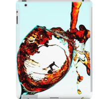 Surfing In A Cup Of Wine iPad Case/Skin