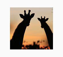 Giraffe Sunset - African Wildlife - Peaceful Tranquility T-Shirt