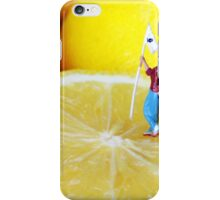 Golf Game On Lemons iPhone Case/Skin
