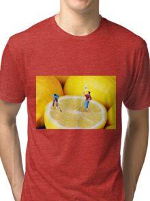 Golf Game On Lemons Tri-blend T-Shirt