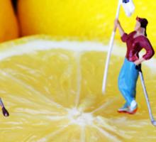 Golf Game On Lemons Sticker