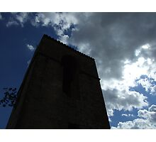 tower against the sky Photographic Print