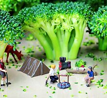 Camping Among Broccoli Jungles by Paul Ge