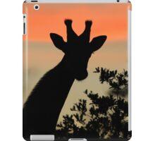 Giraffe Sunset - African Wildlife - Majestic Peace iPad Case/Skin
