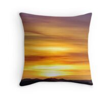 Fruit Tingle Sunrise Throw Pillow