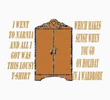 I went to Narnia and all I got was this lousy t-shirt Kids Clothes
