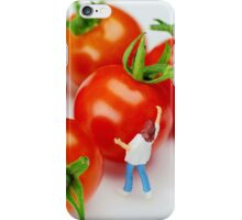 Chefs And Cherry Tomatoes iPhone Case/Skin