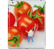 Chefs And Cherry Tomatoes iPad Case/Skin