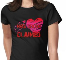 The Walking Dead - Mrs Dixon Claimed Womens Fitted T-Shirt