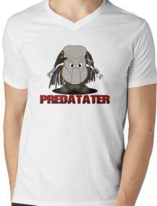 Predatater Mens V-Neck T-Shirt