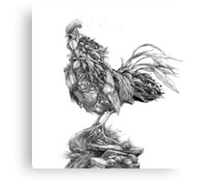 Earth Rooster Canvas Print