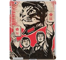 Chairman Meow - Communism - Commie - Mew - Cats iPad Case/Skin