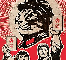 Chairman Meow - Communism - Commie - Mew - Cats by meme-tees