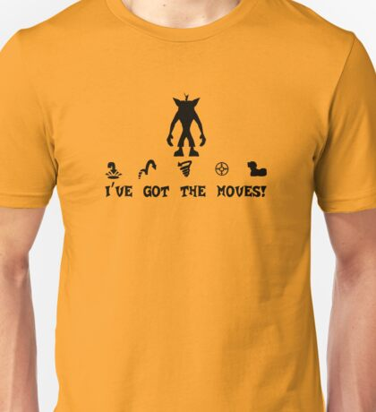 Moves Like Crash! Unisex T-Shirt