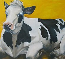 "Cow --- ""Anna"" by M. E.  Bilisnansky McMorrow"