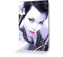 Headshot Lauren Greeting Card