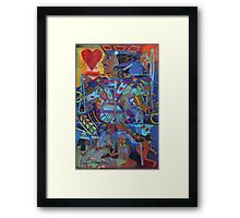 Jack of Lonely Hearts Framed Print