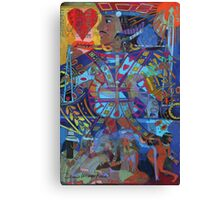 Jack of Lonely Hearts Canvas Print