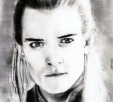 legolas (orlando bloom)... pencil by danijelg