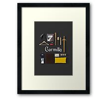 Carmilla Items Framed Print