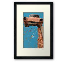 Rusty Autumn Framed Print