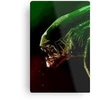 Alien Headshot Metal Print