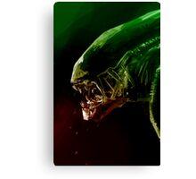 Alien Headshot Canvas Print