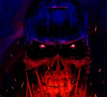 Terminator Headshot by Cleanlined