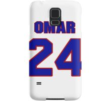 National football player Omar Stoutmire jersey 24 Samsung Galaxy Case/Skin