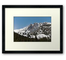 Peak Winds Framed Print