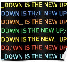 Radiohead - Down Is The New Up Poster